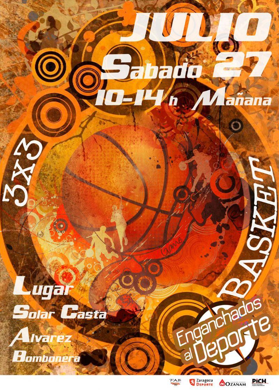Torneo 3X3 de Baloncesto «Enganchados al Deporte»