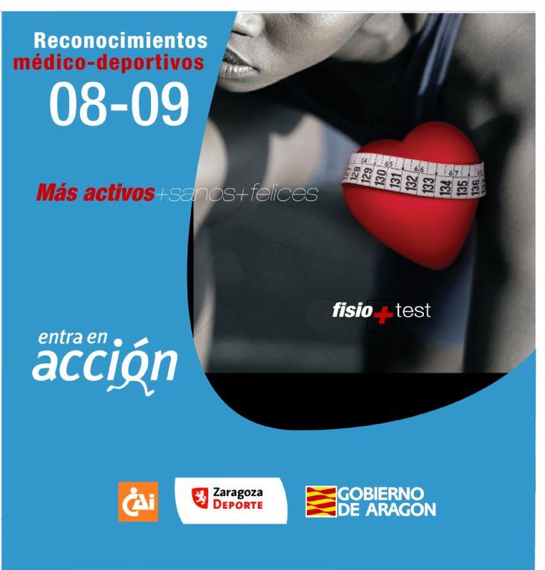Programa de Reconocimientos médico-deportivos 08/09  «Entra en Acción»