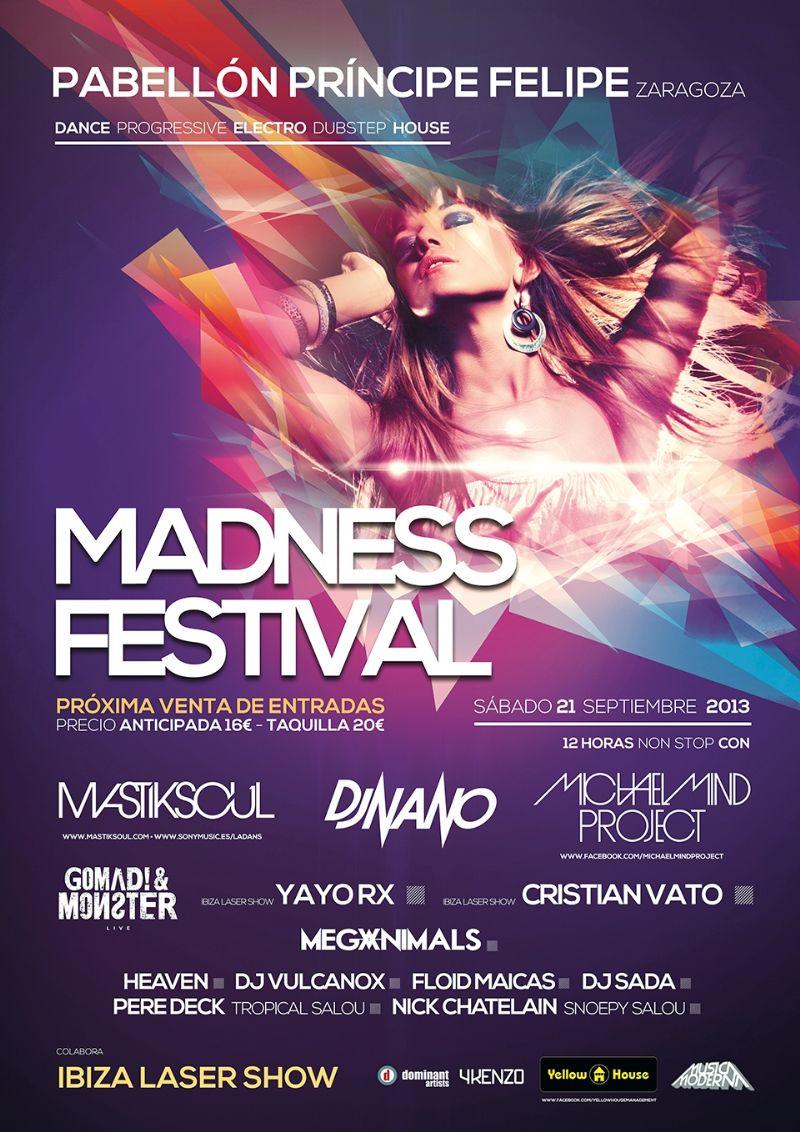 «Madness Festival» Música Electrónica