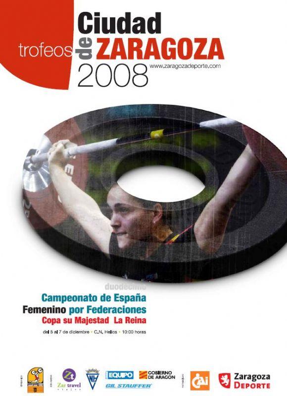 XII Campeonato de España S.M. La Reina y VII Trofeo «Ciudad de Zaragoza» de Halterofilia