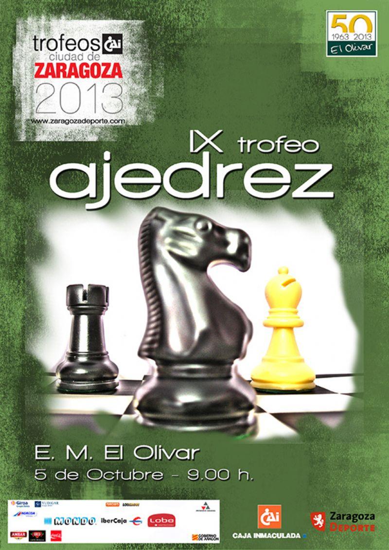 IX Trofeo «CAI-Ciudad de Zaragoza» de Ajedrez