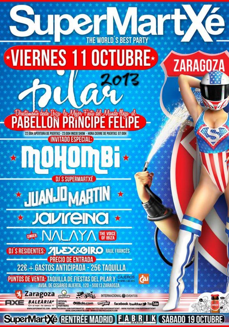 SUPERMARTXE - MOHOMBI + Juanjo Martín + Javi Reina  + Nalaya
