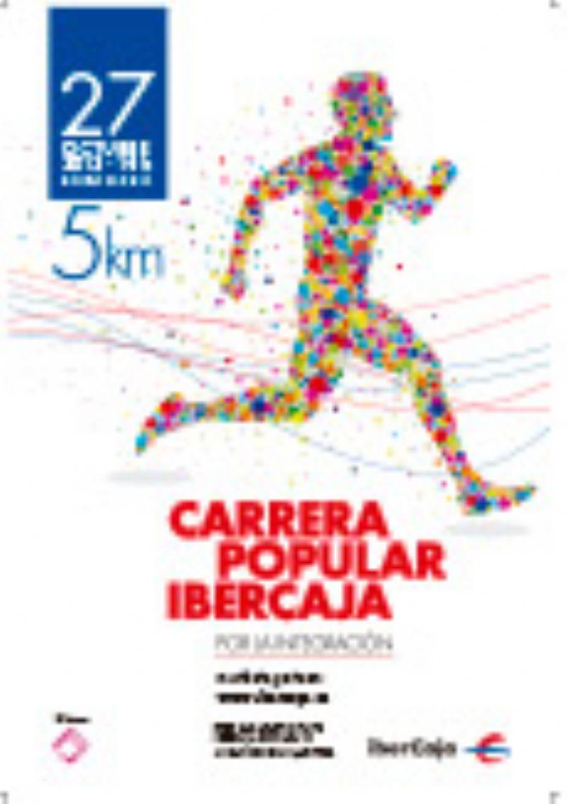 Carrera Popular Ibercaja Zaragoza «Por la integración»