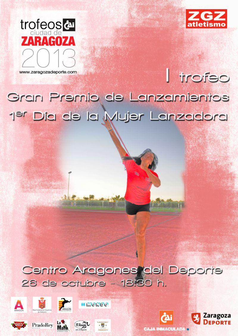 Trofeo «CAI-Ciudad de Zaragoza» de Lanzamientos. Día de la Mujer Lanzadora