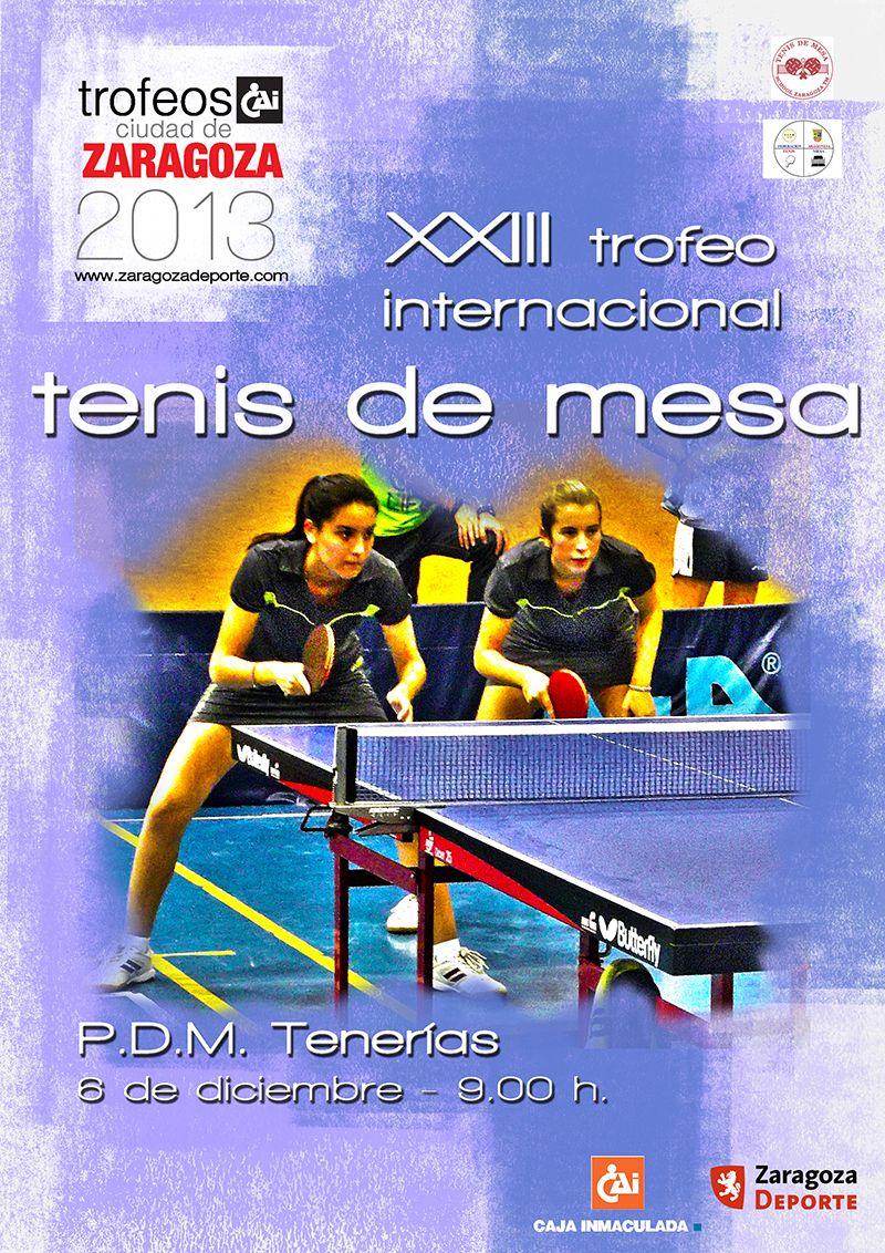 XXI Trofeo Internacional «CAI - Ciudad de Zaragoza» de Tenis de Mesa