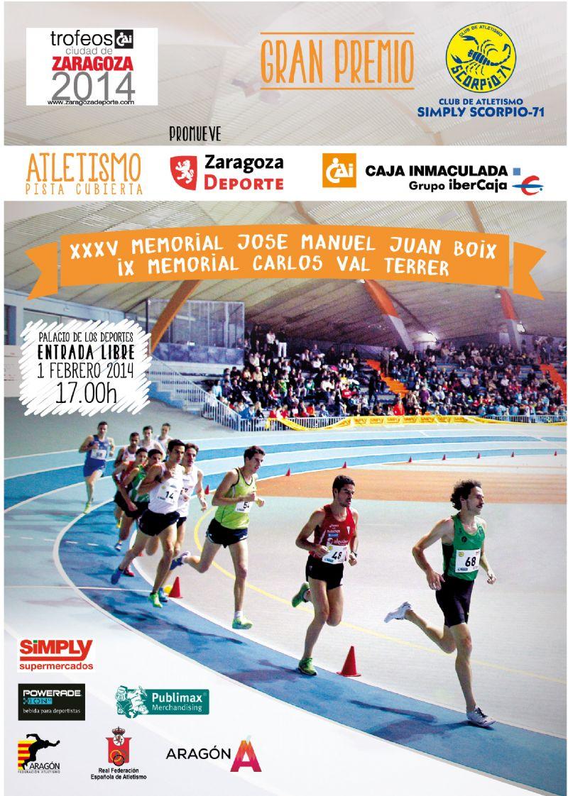 Trofeo «CGrupo Ibercaja-Ciudad de Zaragoza» de Atletismo en Pista Cubierta. Gran Premio Simply Scorpio 71