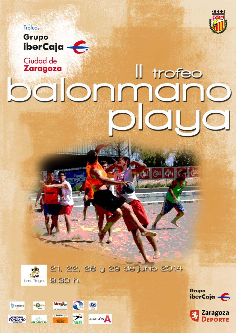 II Trofeo «Grupo Ibercaja-Ciudad de Zaragoza» de Balonmano Playa
