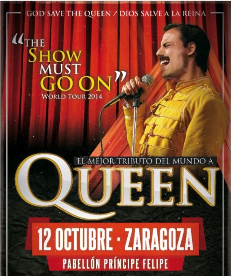 Concierto «God Save the Queen DSR - Tributo a Queen»