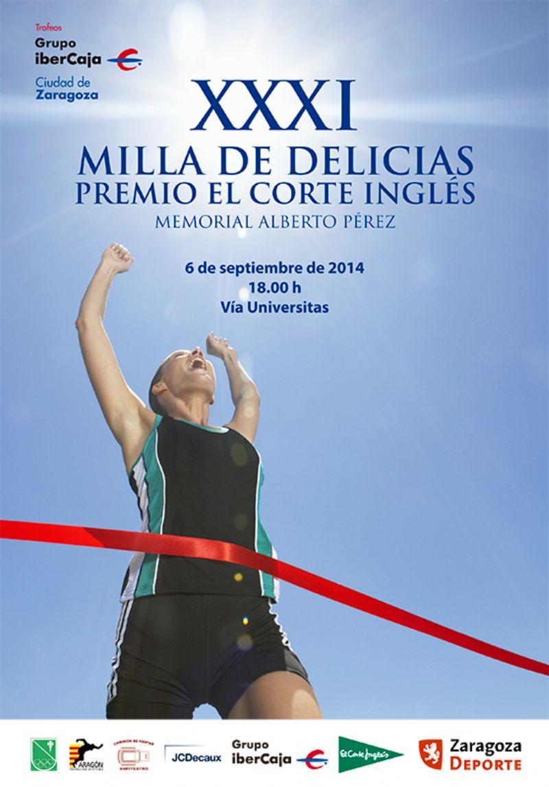 XXXI Milla Urbana de Delicias Trofeo «Grupo Ibercaja-Ciudad de Zaragoza»