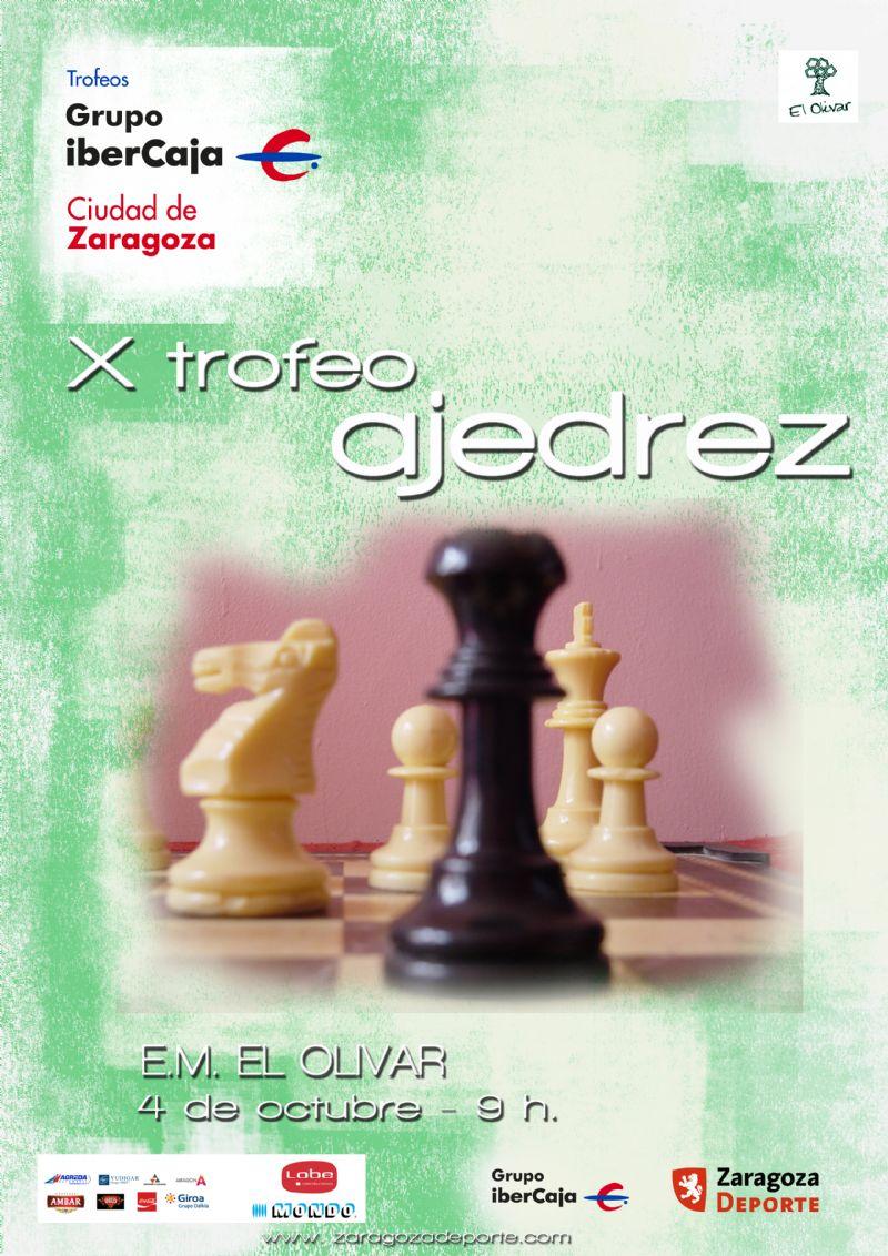 X Trofeo «Grupo Ibercaja-Ciudad de Zaragoza» de Ajedrez
