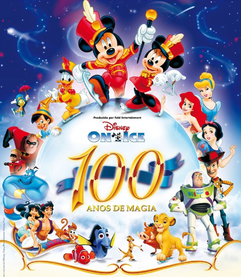 Disney On Ice «100 Años De Magia»