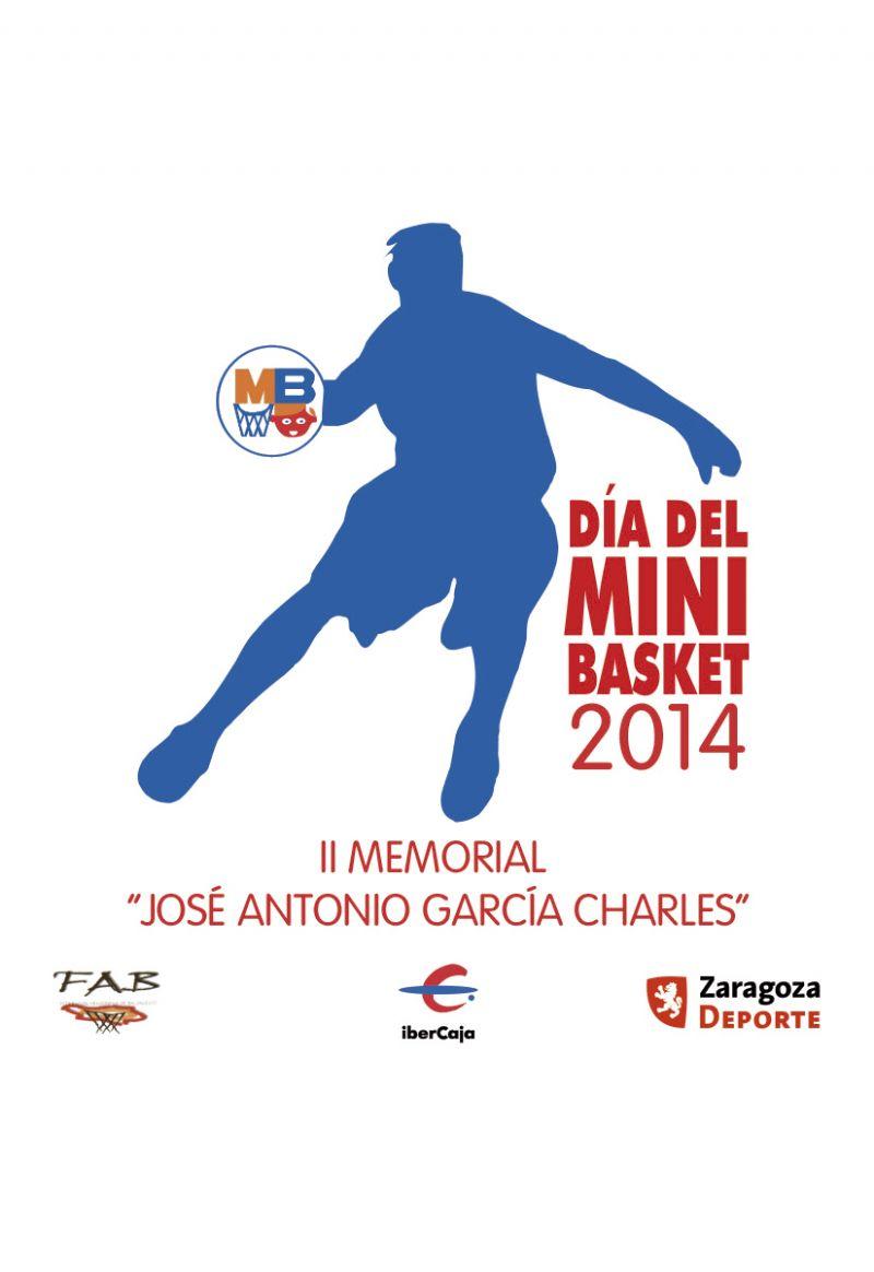 XIX Día del Minibasket 2014<br>II Memorial «José Antonio García Charles»