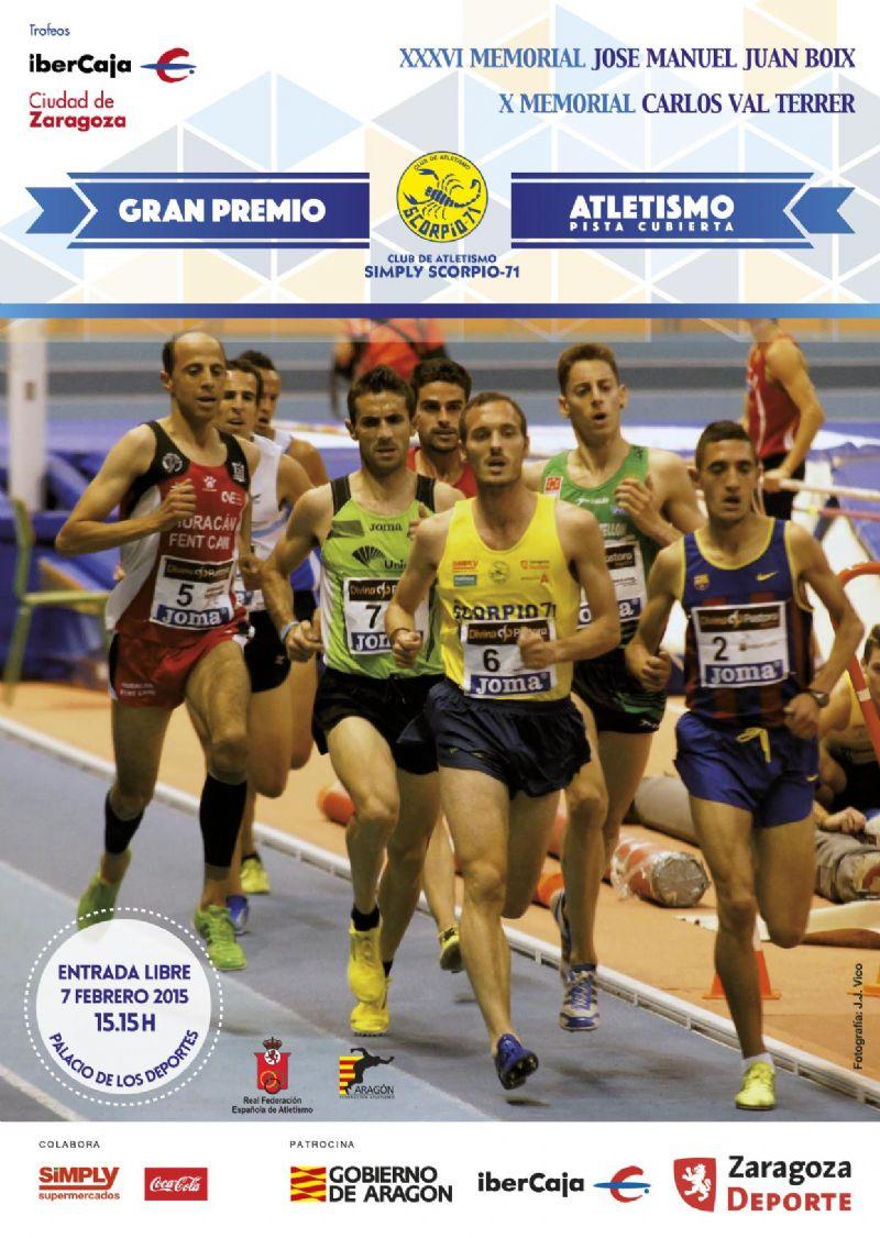 Trofeo «Ibercaja-Ciudad de Zaragoza» de Atletismo en Pista Cubierta. Gran Premio Simply Scorpio 71