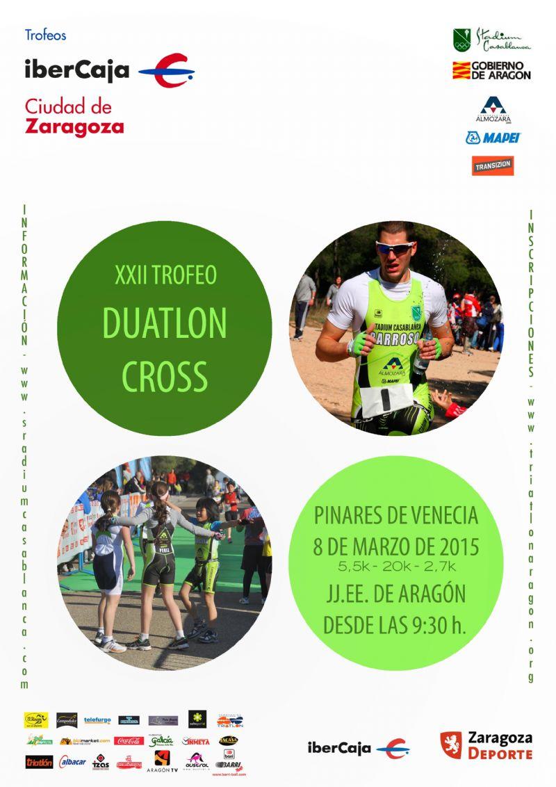XXII Trofeo «Ibercaja-Ciudad de Zaragoza» de Duatlón Cros