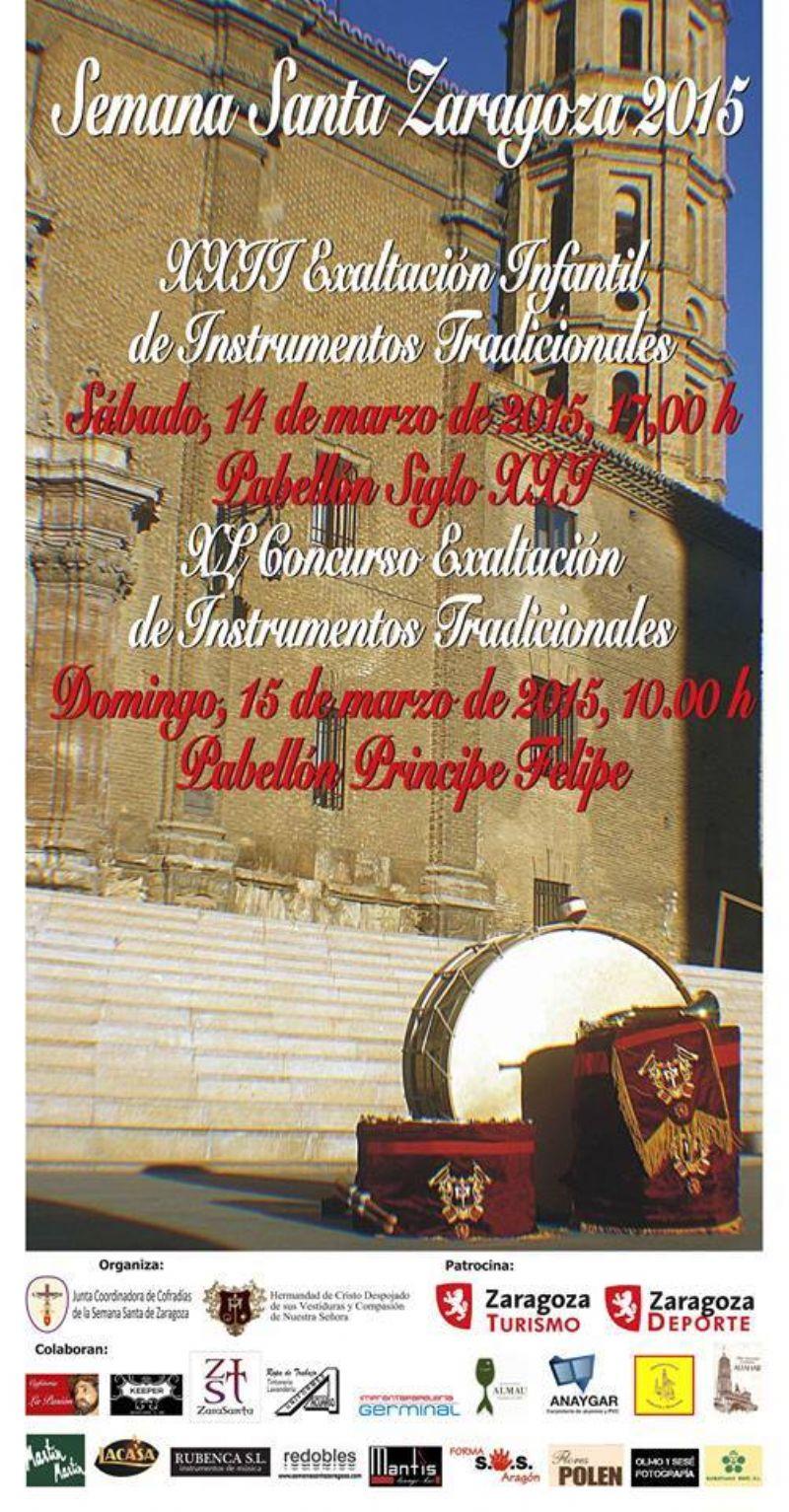 XL Concurso Exaltación de los Instrumentos Tradicionales de la Semana Santa