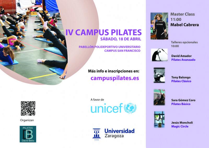 IV Campus de Pilates a favor de UNICEF