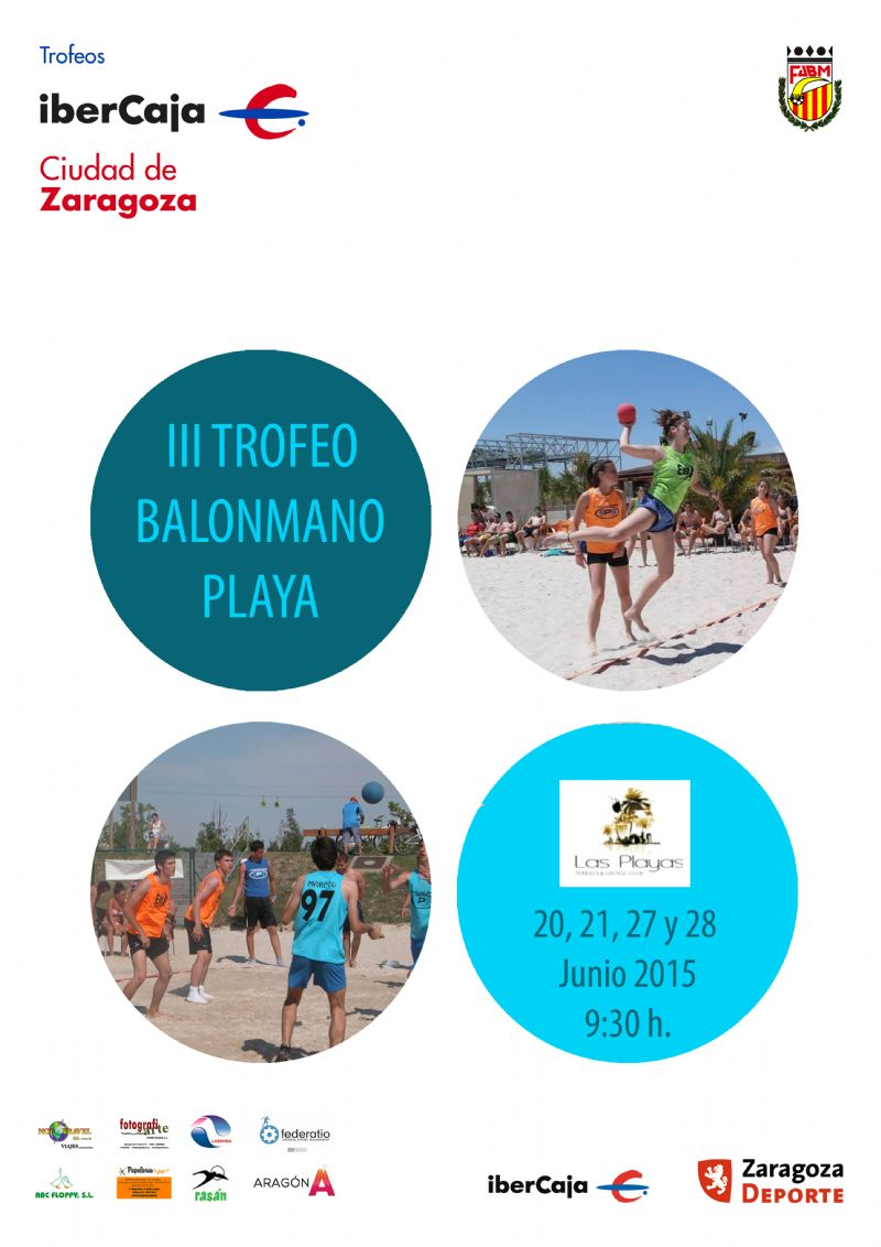 III Trofeo «Ibercaja-Ciudad de Zaragoza» de Balonmano Playa