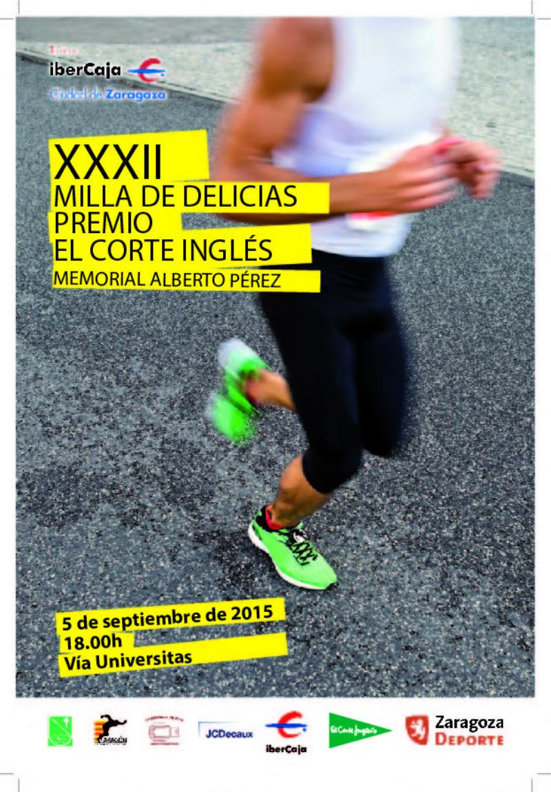 XXXII Milla Urbana de Delicias Trofeo «Ibercaja-Ciudad de Zaragoza»