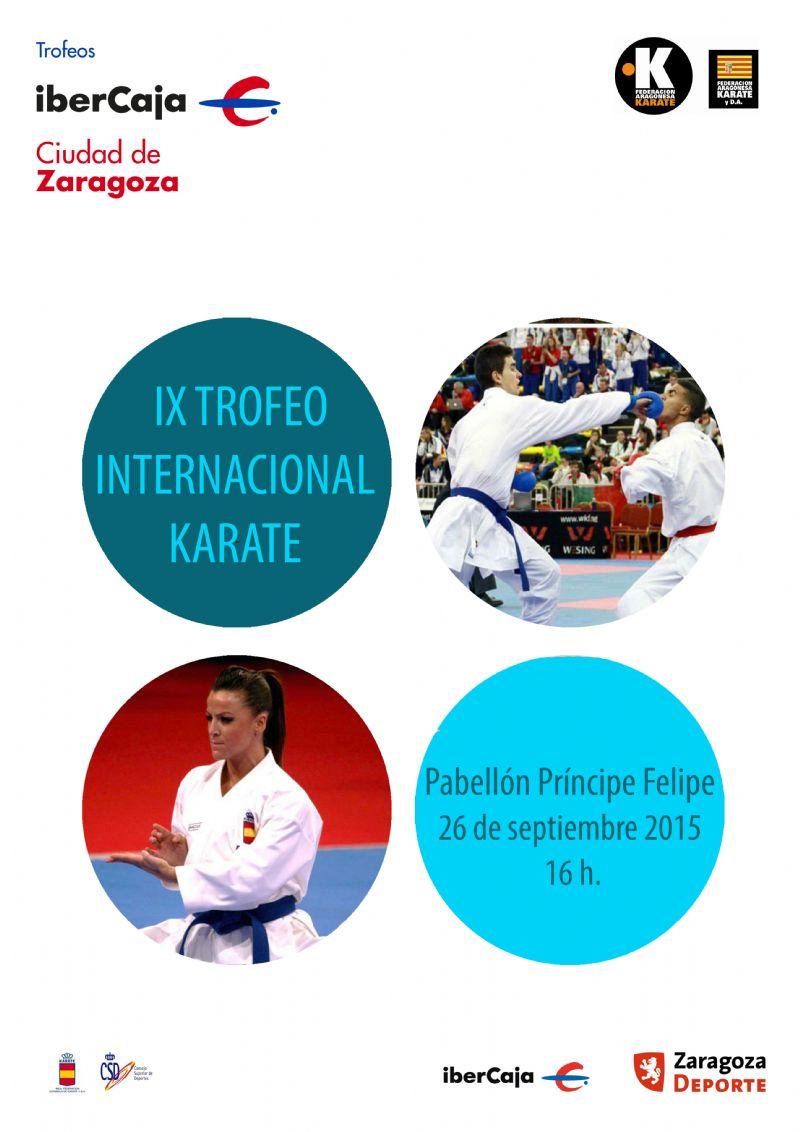 IX Trofeo Internacional «Ibercaja - Ciudad de Zaragoza» de Karate