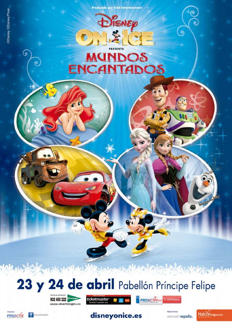 Disney On Ice «Mundos Encantados»