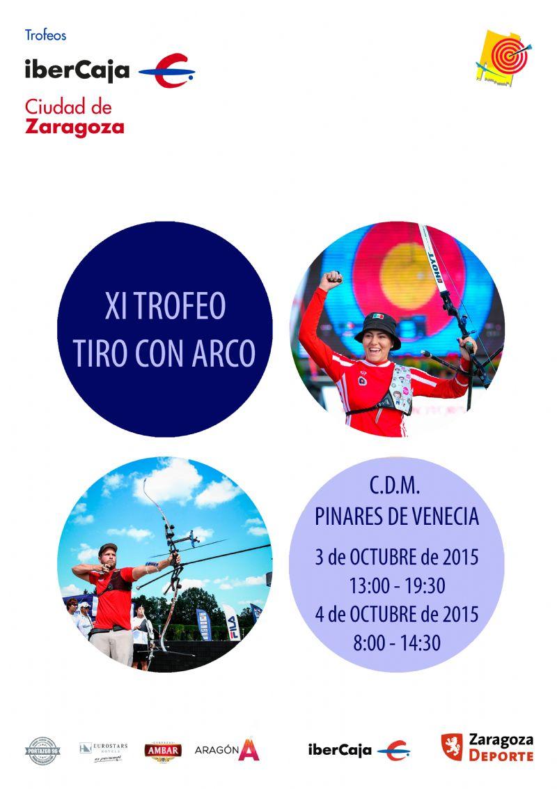 XI Trofeo «Ibercaja-Ciudad de Zaragoza» de Tiro con Arco
