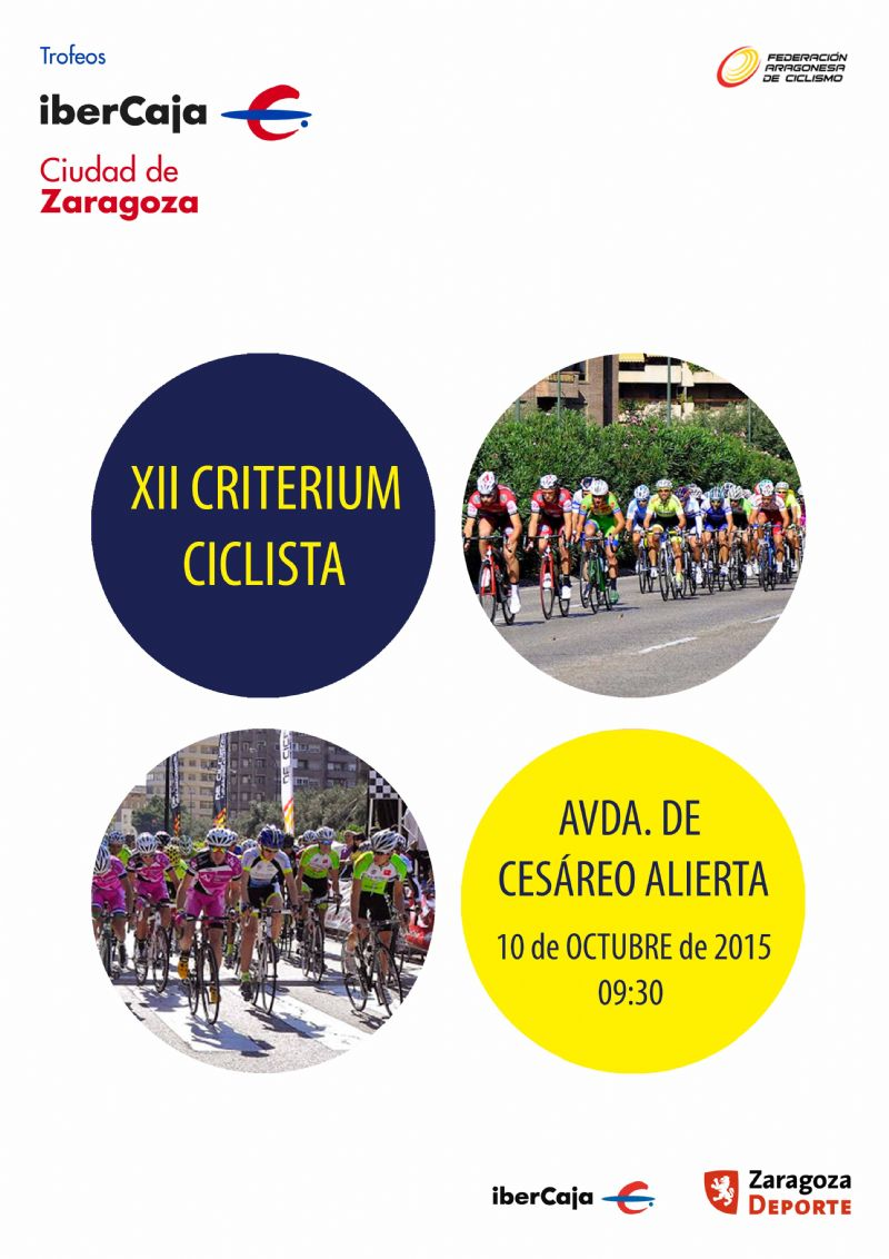 XII Criterium Ciclista «Ibercaja-Ciudad de Zaragoza»