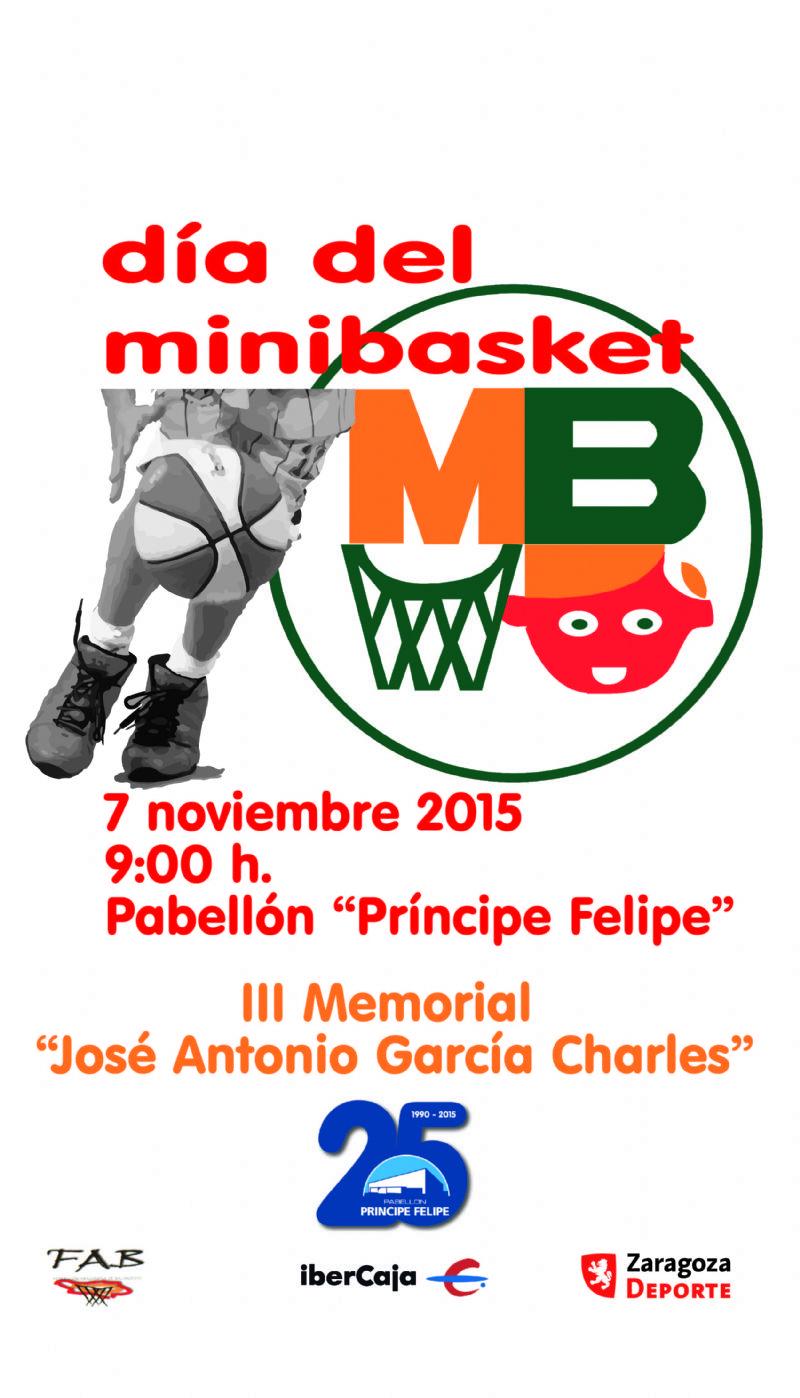 XX Día del Minibasket 2015<br>III Memorial «José Antonio García Charles»