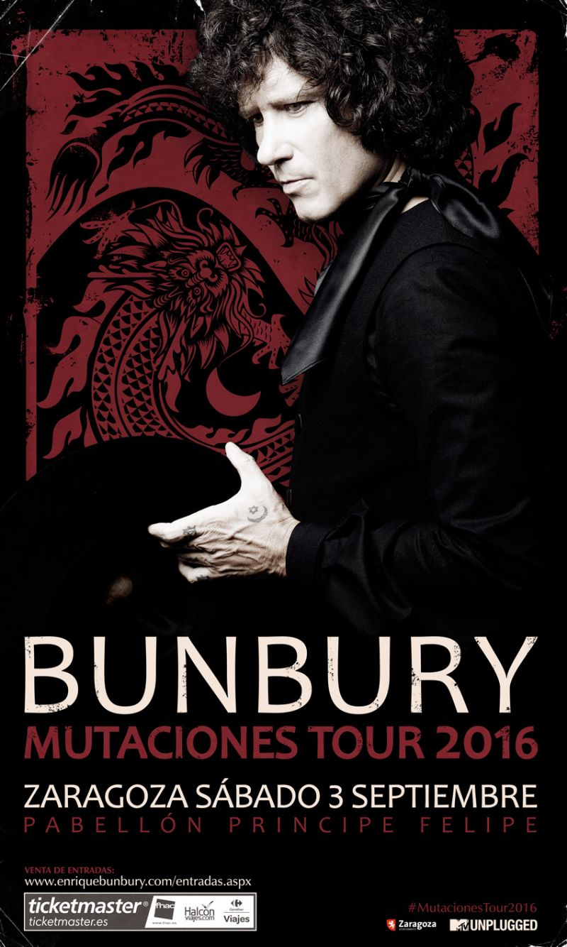 Bunbury en concierto