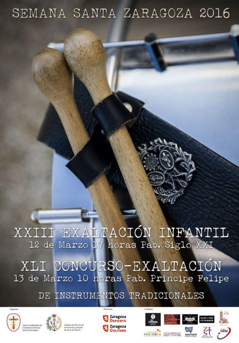XLI Concurso Exaltación de los Instrumentos Tradicionales de la Semana Santa
