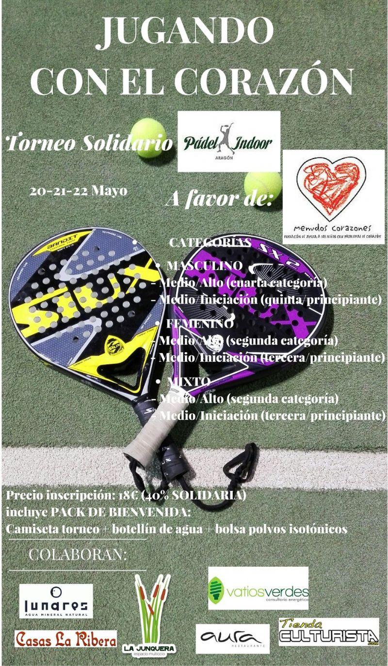 Torneo Solidario de Pádel «Jugando con el corazón» | Eventos ...