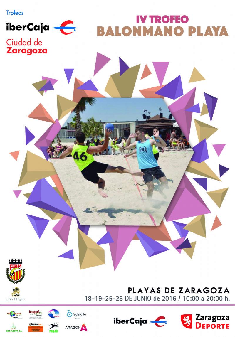 IV Trofeo «Ibercaja-Ciudad de Zaragoza» de Balonmano Playa