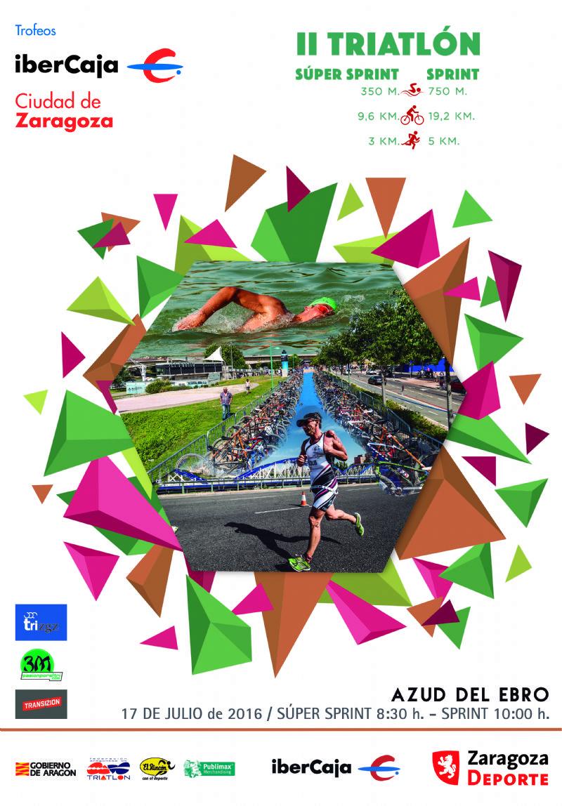 II Triatlón «Ibercaja - Ciudad de Zaragoza»