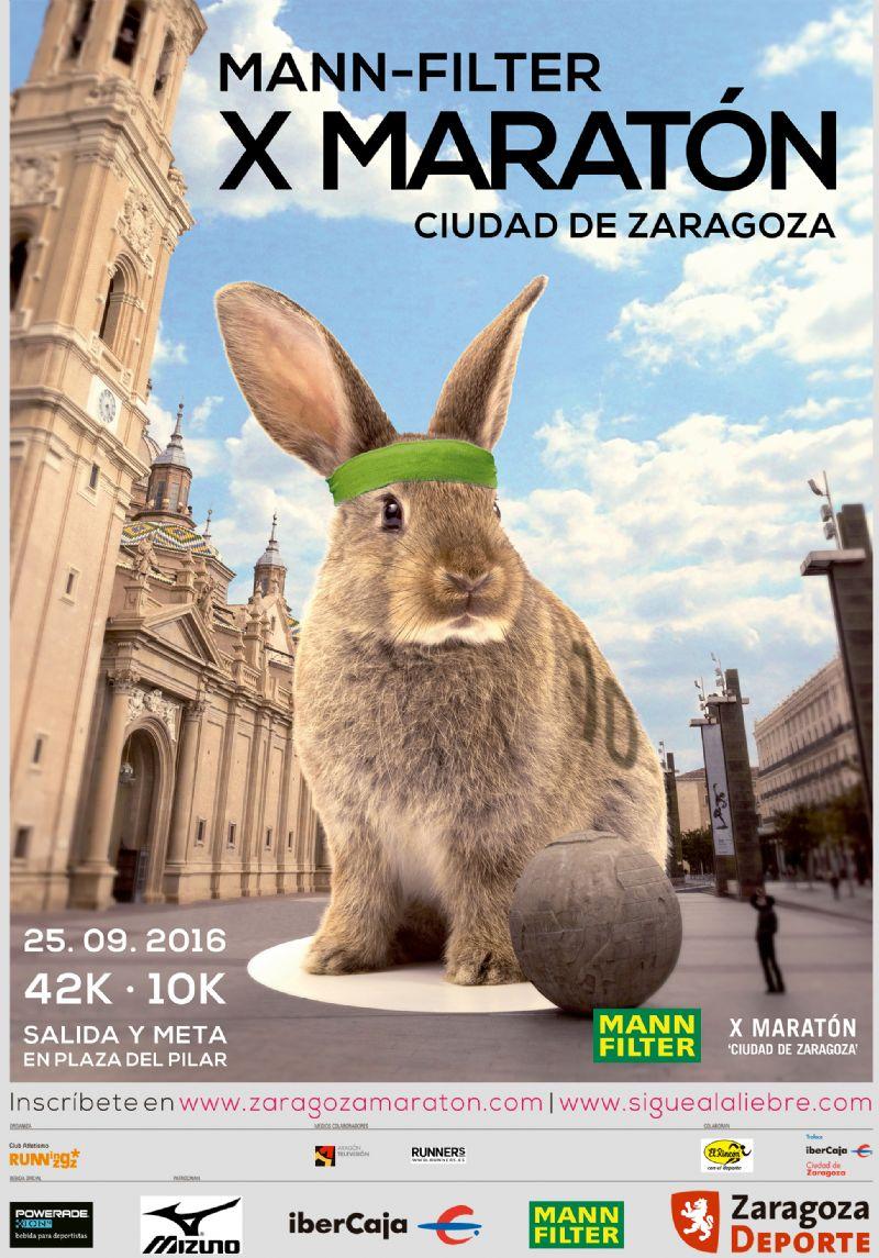 Mann Filter X Maratón «Ciudad de Zaragoza» + Prueba Corta 10k