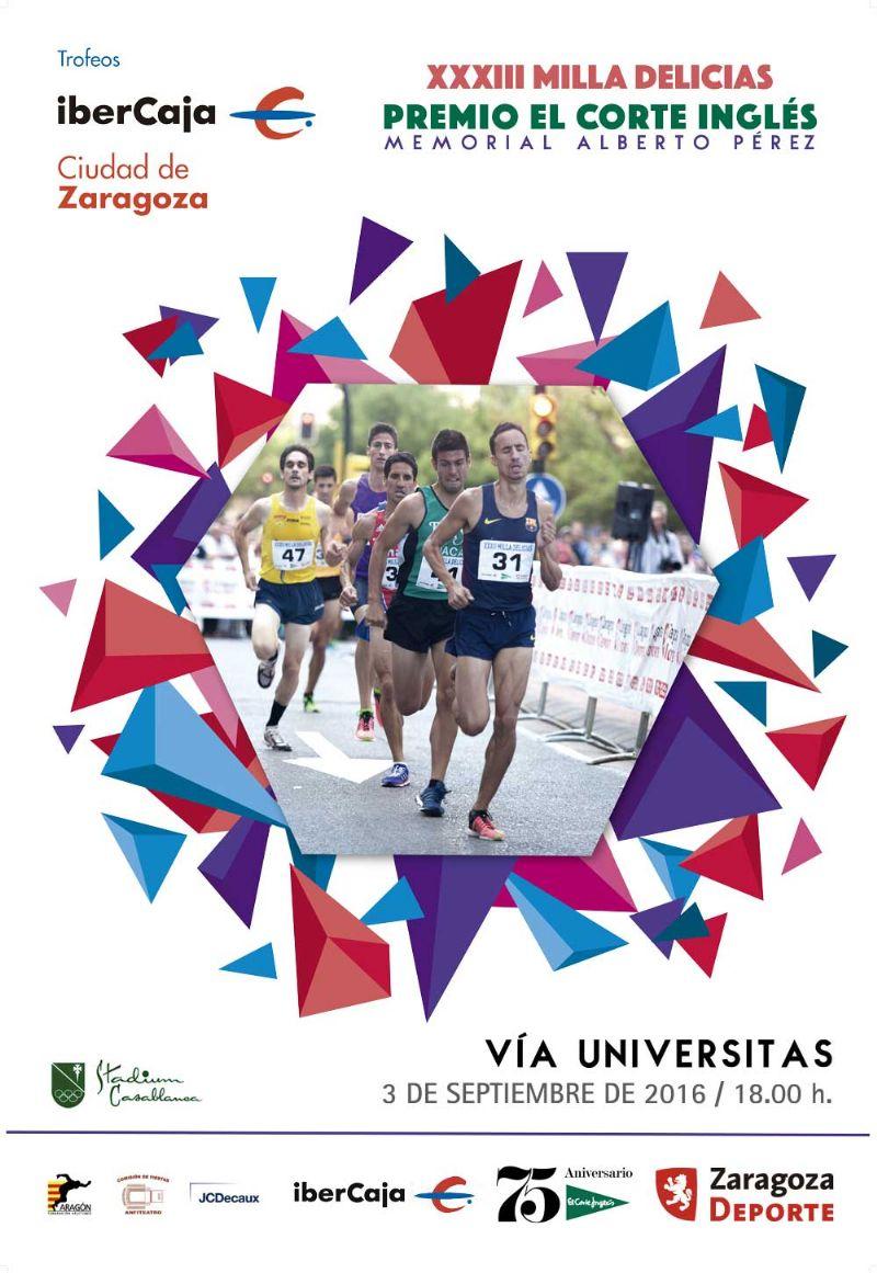 XXXIII Milla Urbana de Delicias Trofeo «Ibercaja-Ciudad de Zaragoza»