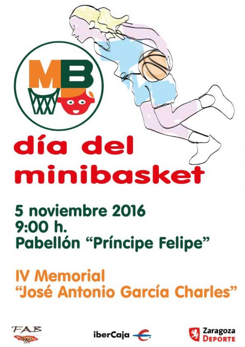 XXI Día del Minibasket 2016<br>IV Memorial «José Antonio García Charles»