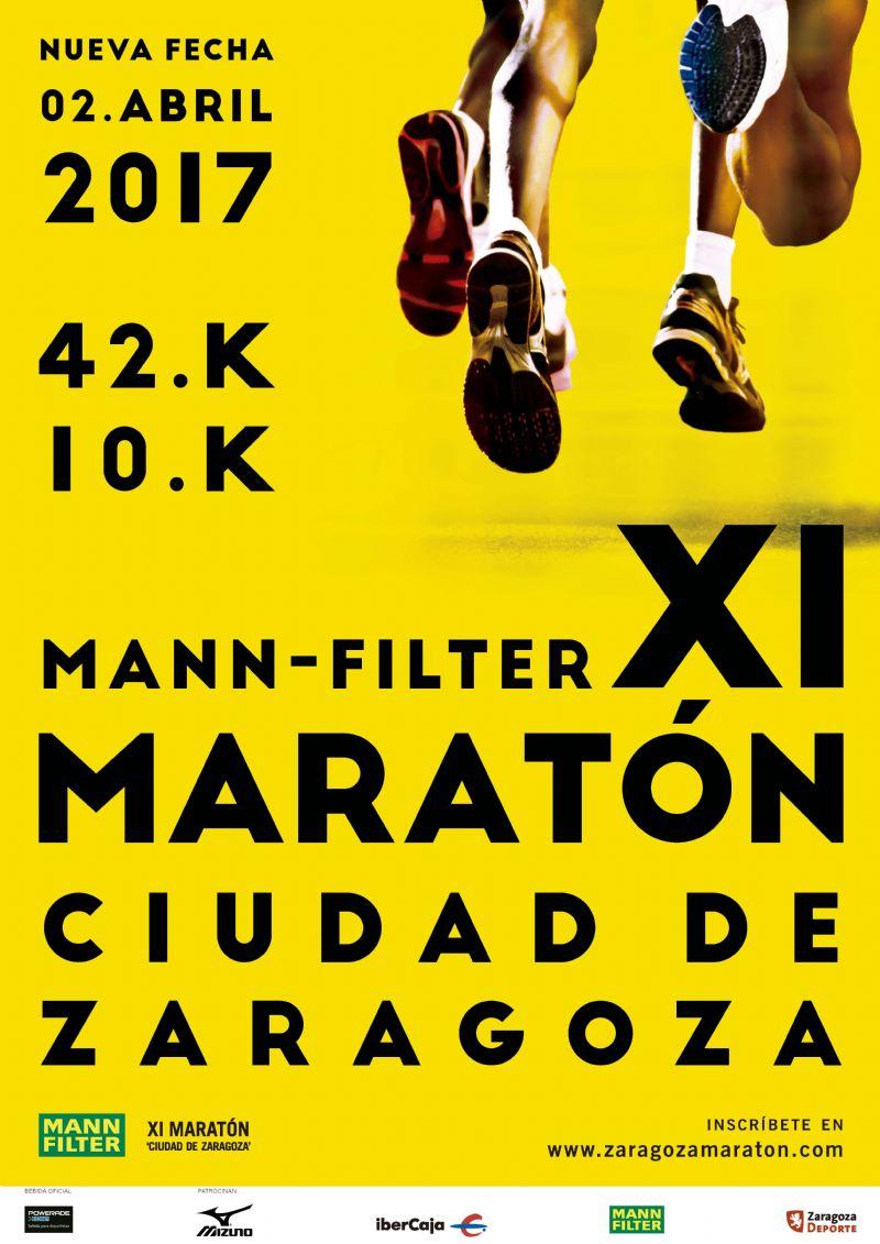 Mann Filter XI Maratón «Ciudad de Zaragoza» + Prueba Corta 10k