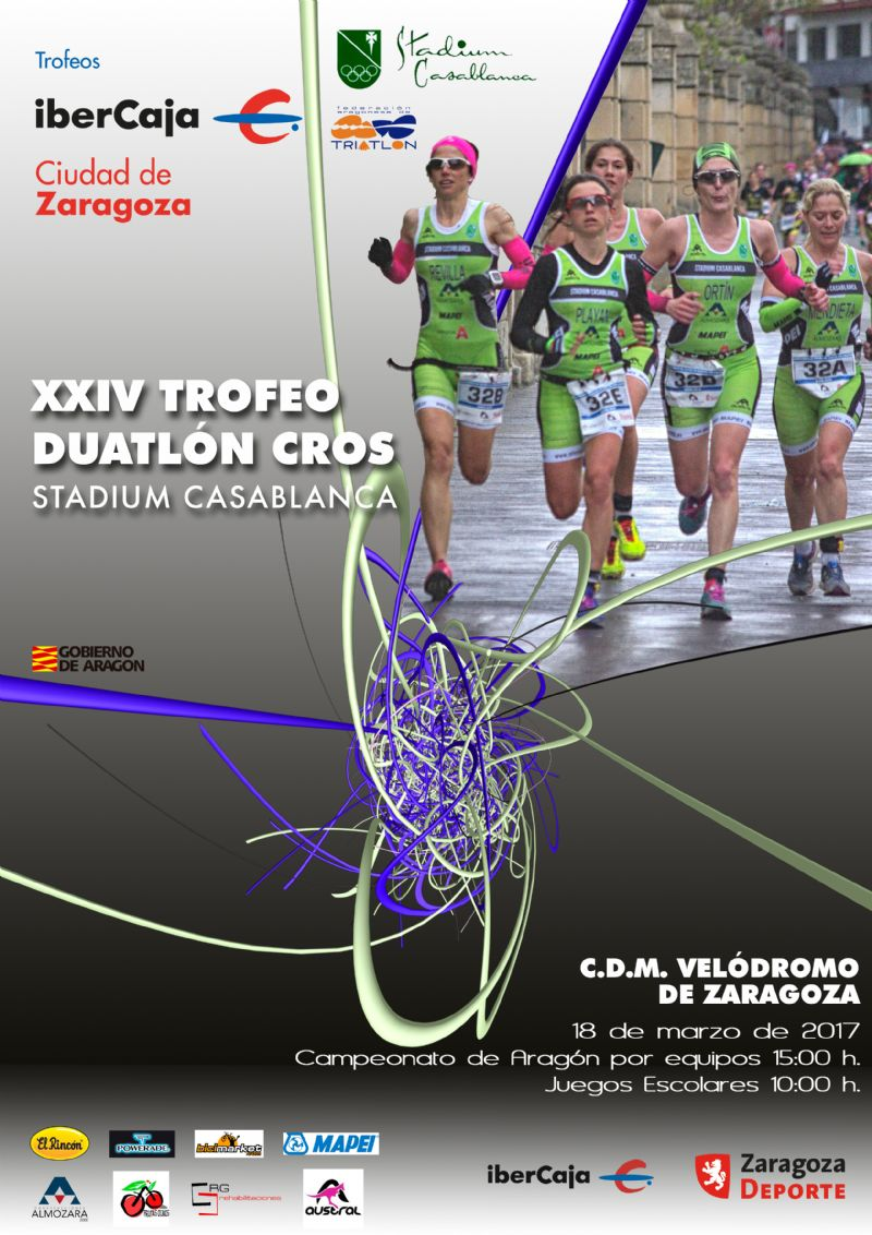 XXIV Trofeo «Ibercaja-Ciudad de Zaragoza» de Duatlón Cros