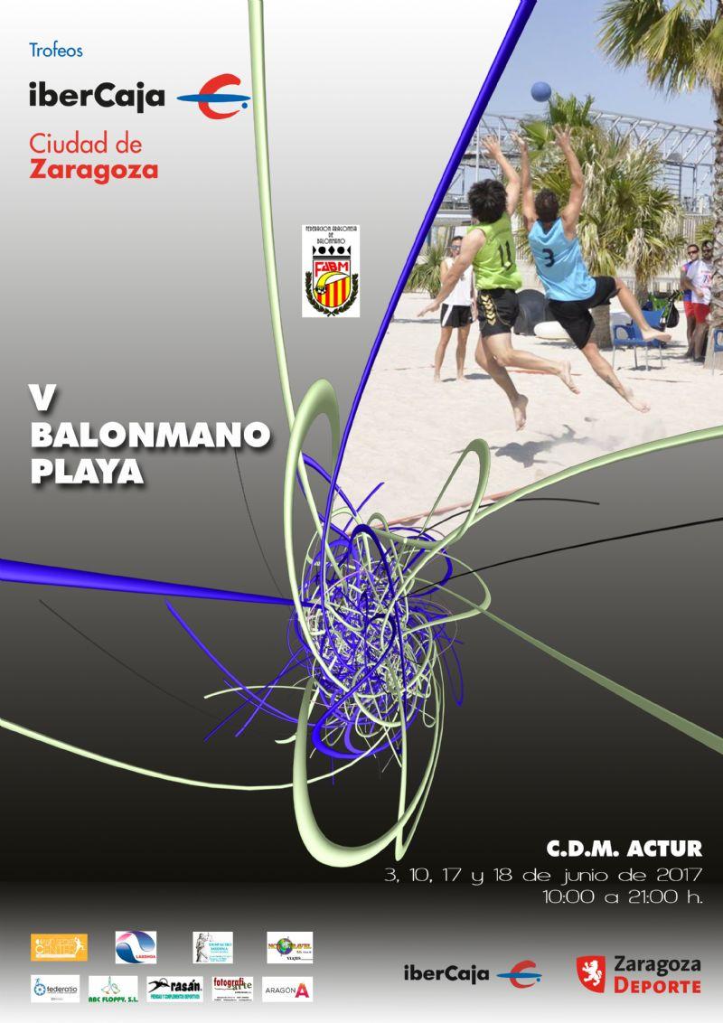 V Trofeo «Ibercaja-Ciudad de Zaragoza» de Balonmano Playa