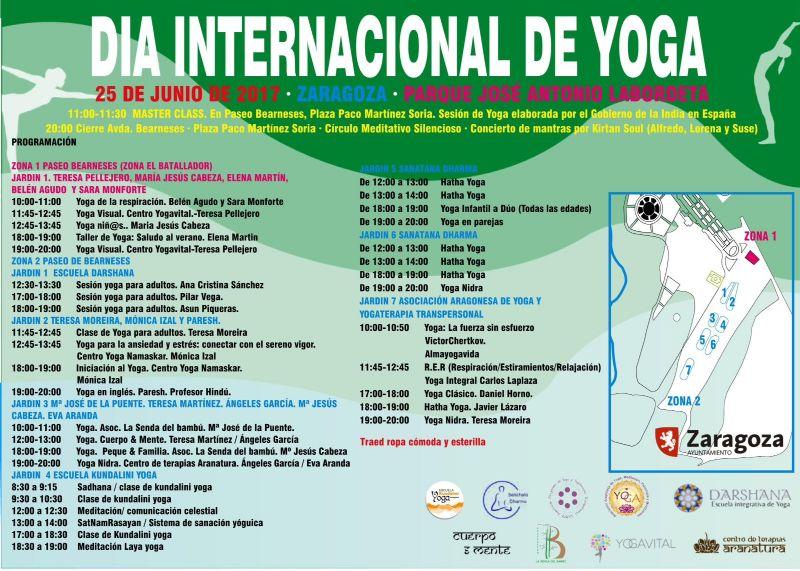 Día Internacional del Yoga en el Parque Grande
