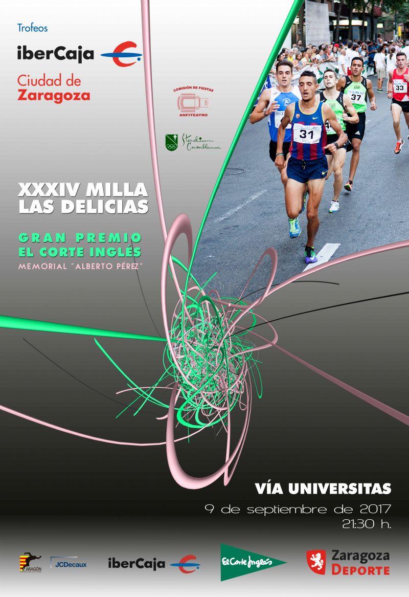 XXXIV Milla Urbana de Delicias Trofeo «Ibercaja-Ciudad de Zaragoza»
