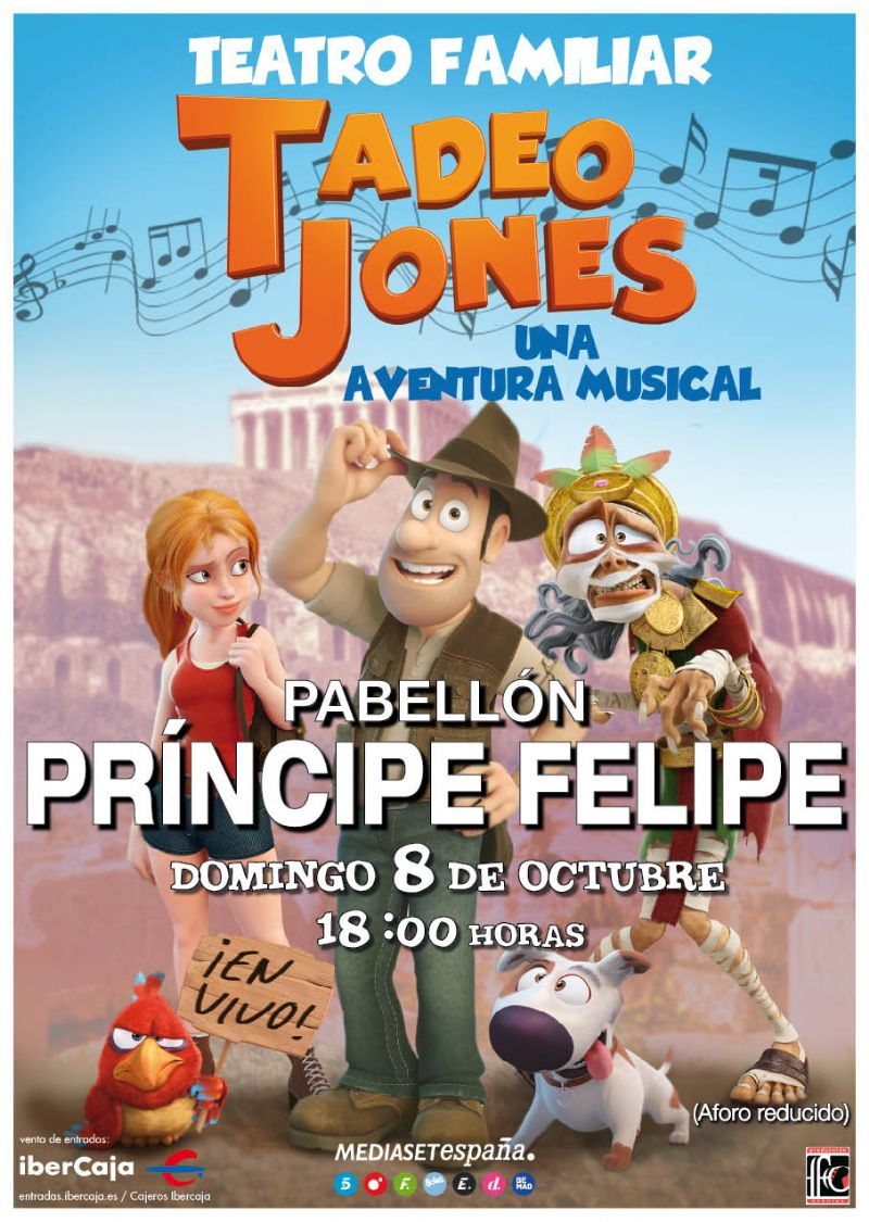 Tadeo Jones, un aventura musical