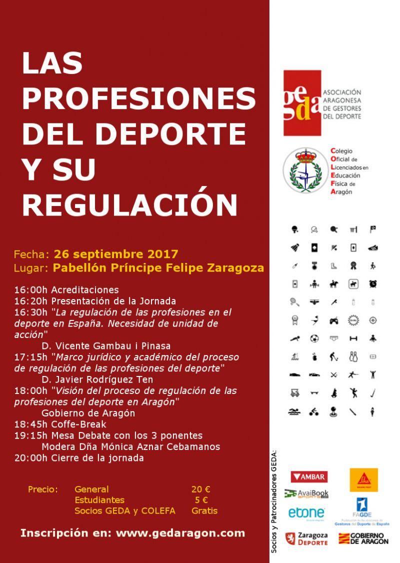 Jornada: Las Profesiones del Deporte y su Regulación