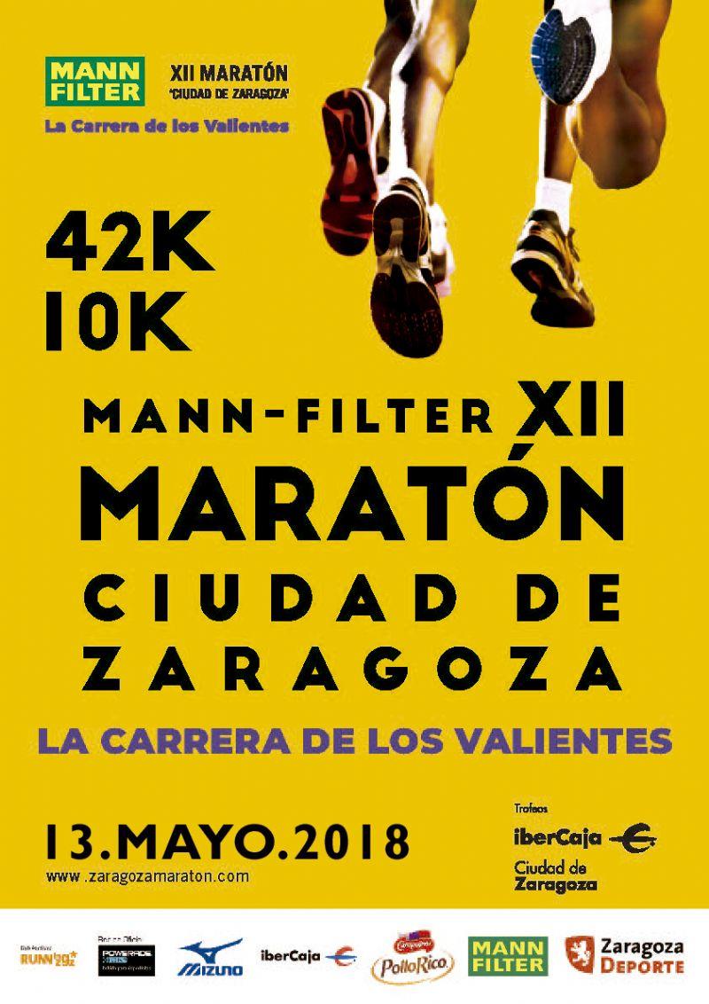 Mann Filter XII Maratón «Ciudad de Zaragoza» + Prueba Corta 10k