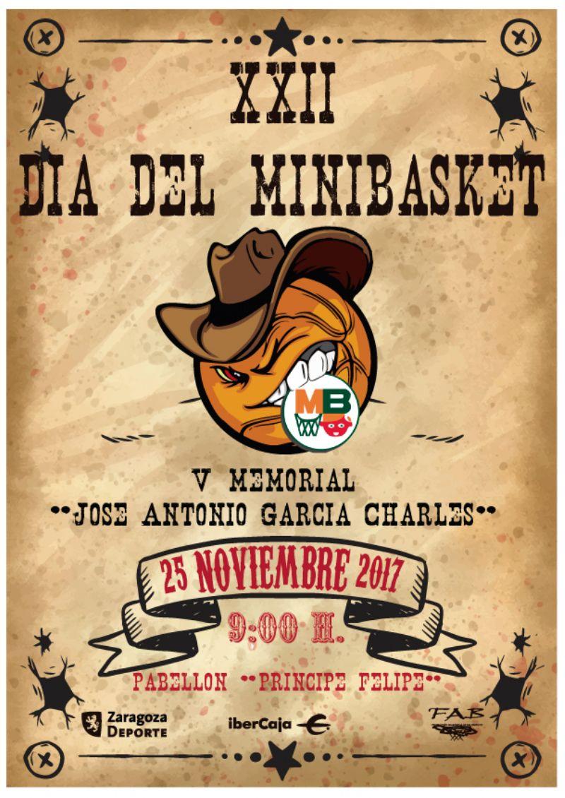 XXII Día del Minibasket 2017<br>V Memorial «José Antonio García Charles»