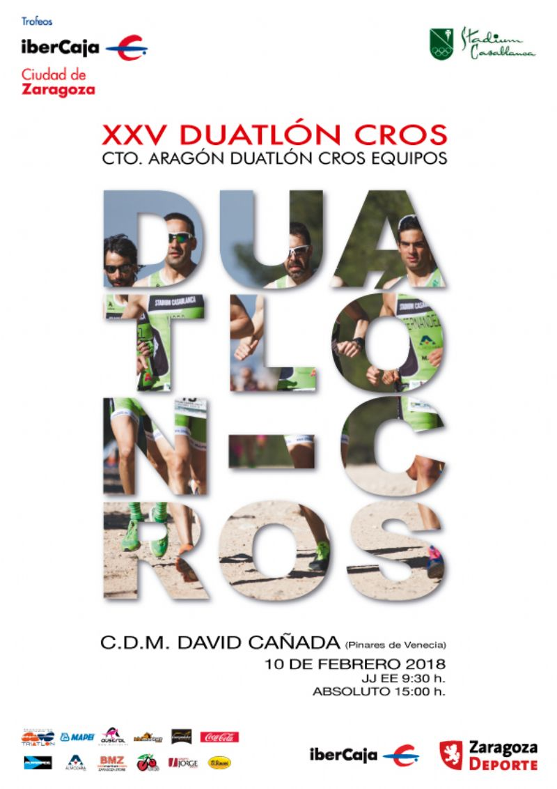XXV Trofeo «Ibercaja-Ciudad de Zaragoza» de Duatlón Cros