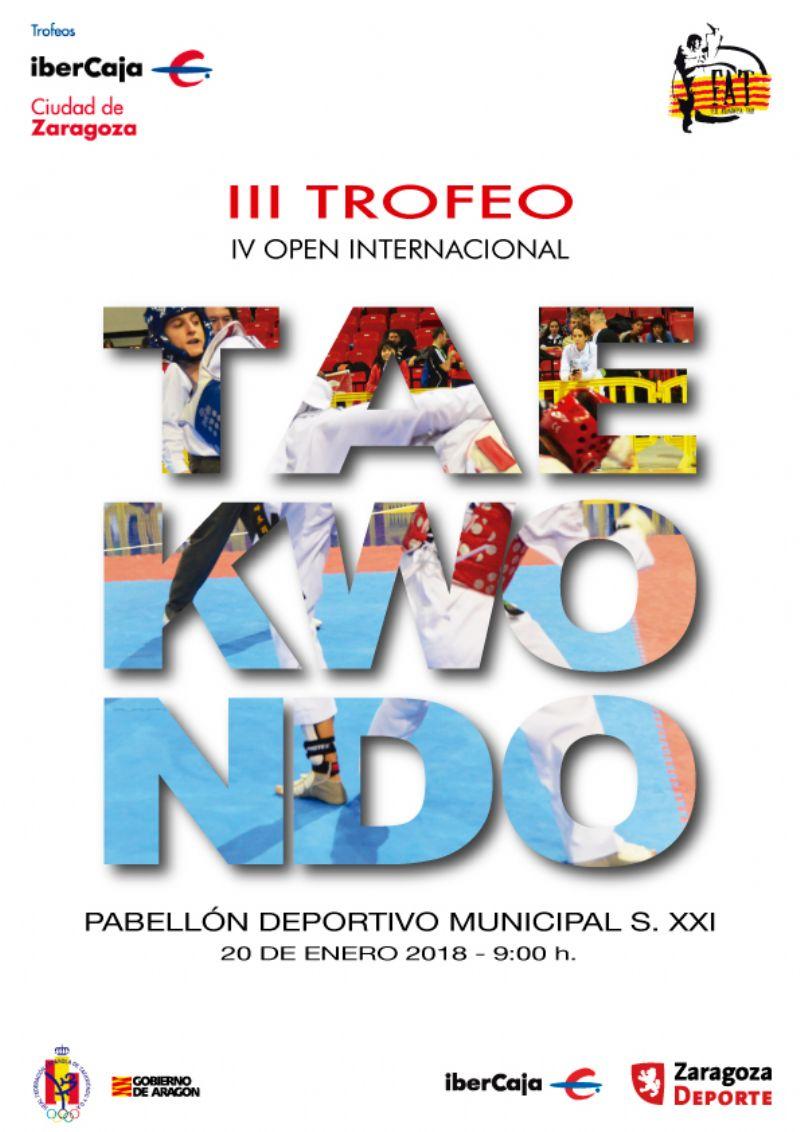 III Trofeo «Ibercaja-Ciudad de Zaragoza» de Taekwondo