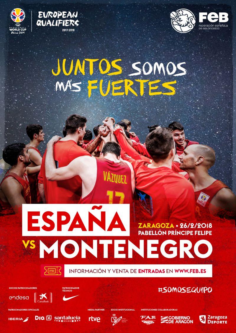 España - Montenegro