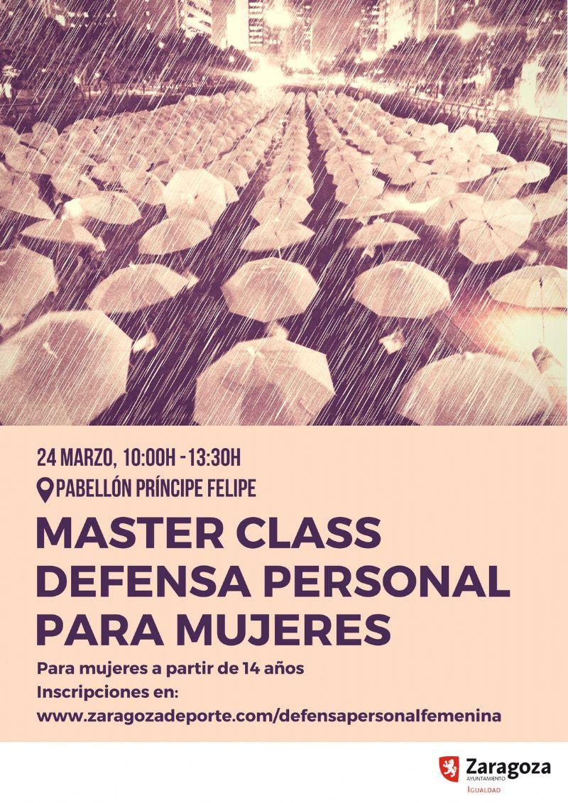 Masterclass de Defensa Personal para Mujeres