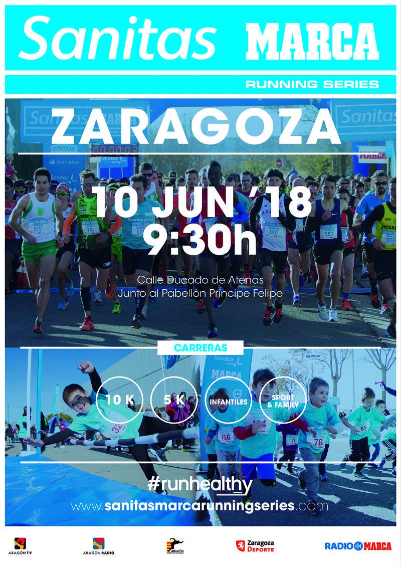 Carrera Popular «Sanitas Marca Running Series» 2018