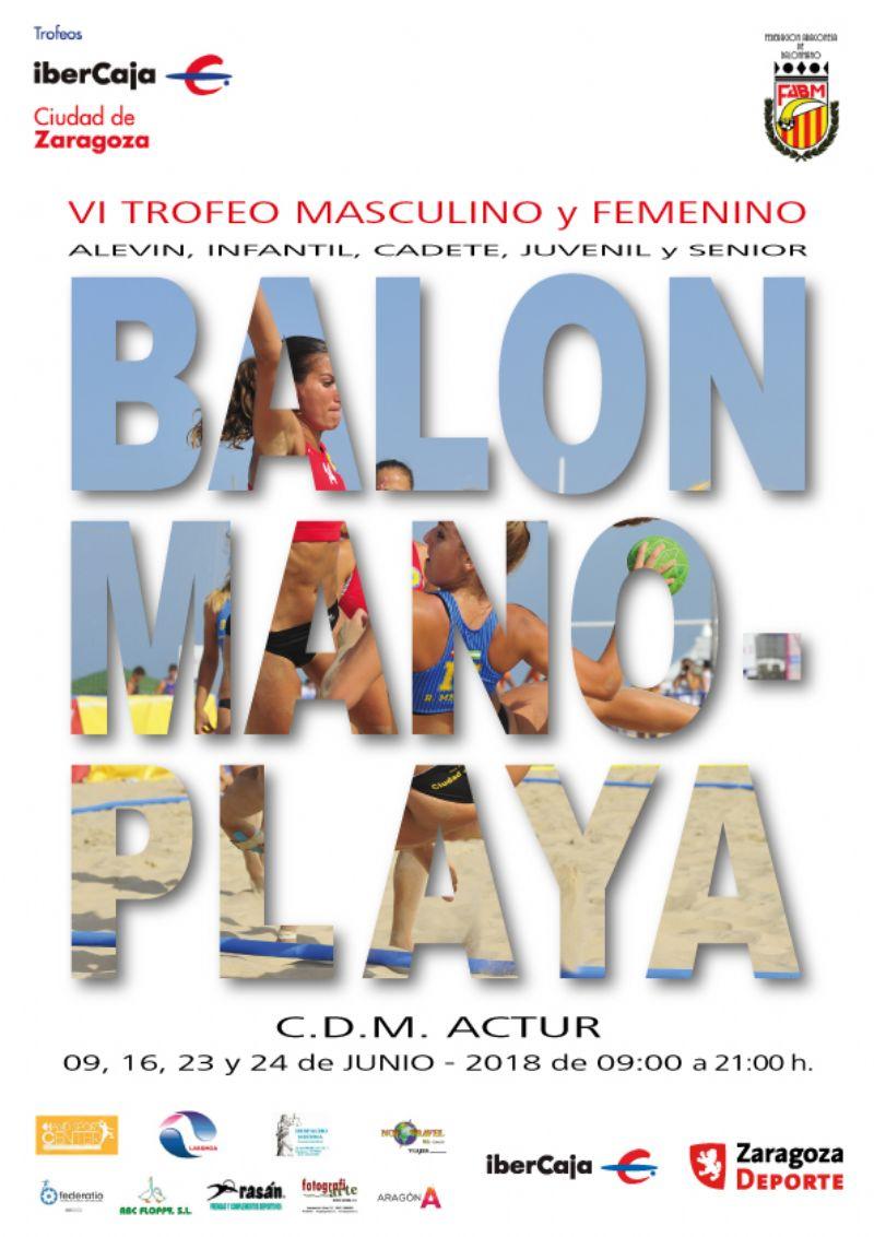 VI Trofeo «Ibercaja-Ciudad de Zaragoza» de Balonmano Playa